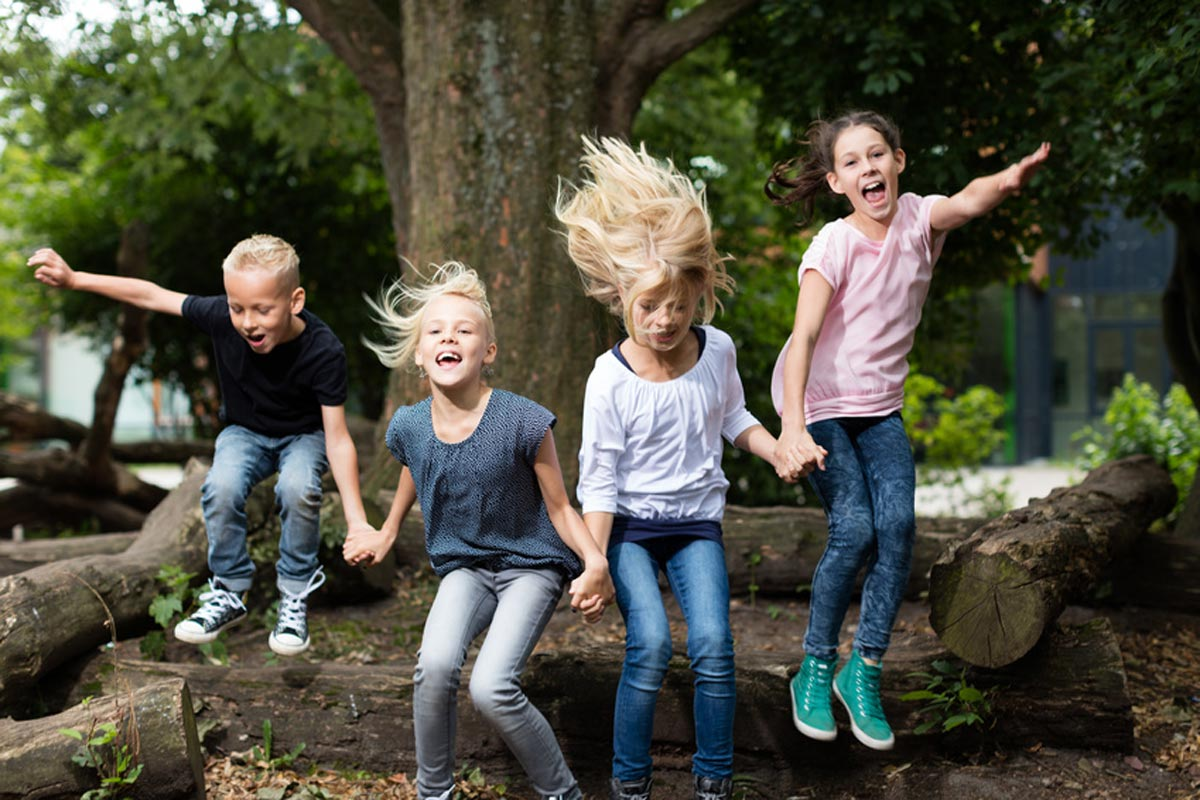 Nicht Nur Kinderaugen Wollen Draußen Spielen! Foto: Fotolia @ Christian Schwier