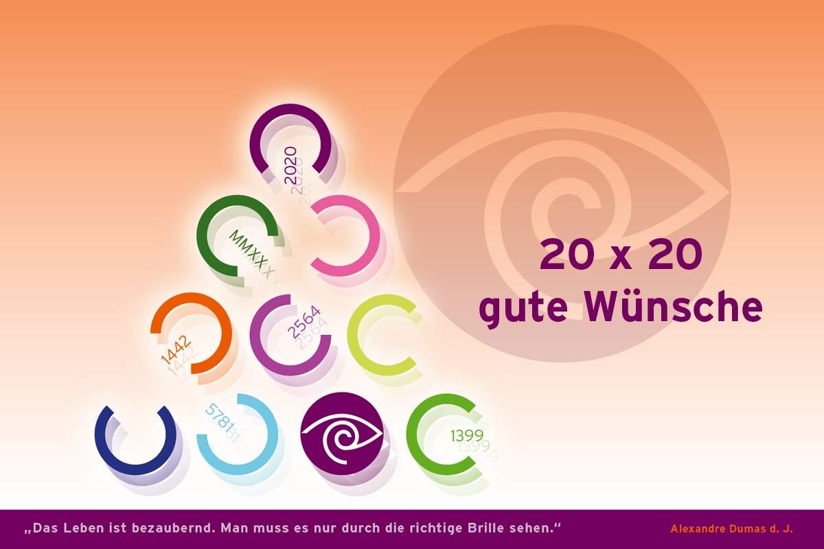 Und welches neue Jahr begrüßen Sie?